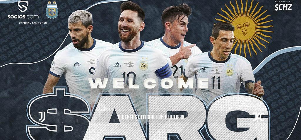 اعلام همکاری سوسیوس با تیم ملی آرژانتین