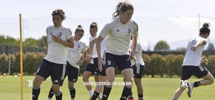 تمرینات دختران بیانکونره برای بازی پایانی