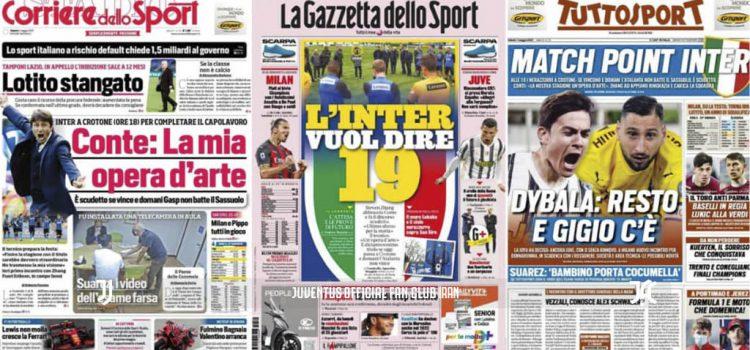 روزنامه های تاریخ 1 می - 11 اردیبهشت