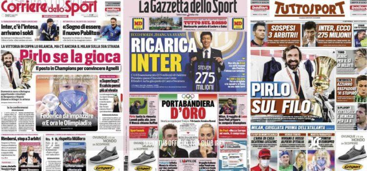 روزنامه های تاریخ 21 می - 31 اردیبهشت