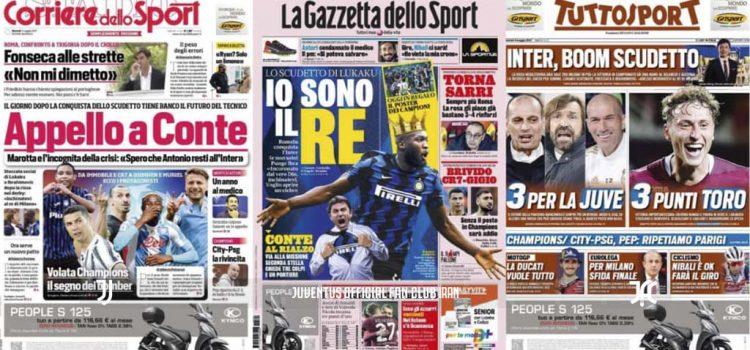 روزنامه های تاریخ 4 می - 14 اردیبهشت