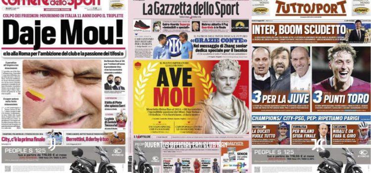 روزنامه های تاریخ 5 می - 15 اردیبهشت