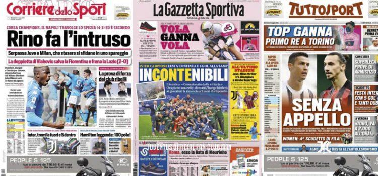 روزنامه های تاریخ 9 می - 19 اردیبهشت