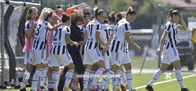 پیروزی پر گل دختران یوونتوس