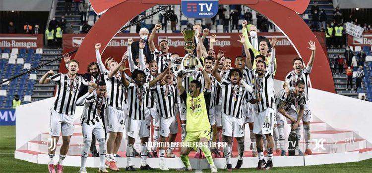 یوونتوس فاتح دو جام در این فصل