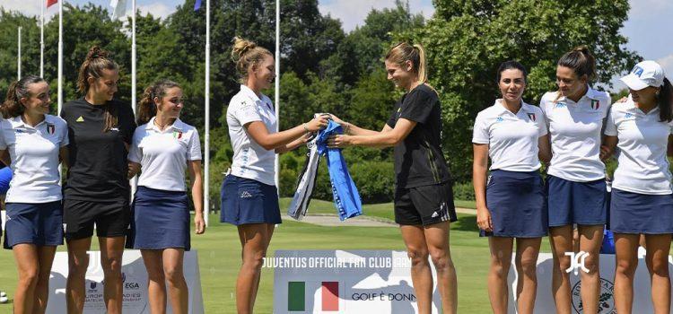 دختران یوونتوس با تیم ملی گلف زنان ایتالیا