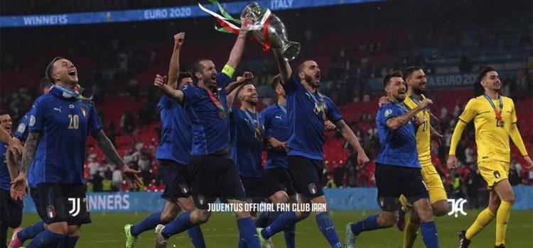 آتزوری فاتح رقابت های یورو 2020