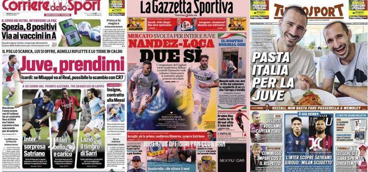 روزنامه های تاریخ 18 ژوئیه - 27 تیر