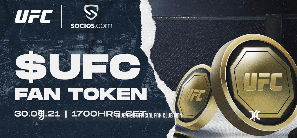 راه اندازی توکن هوادارای UFC$ در پلتفرم سوسیوس