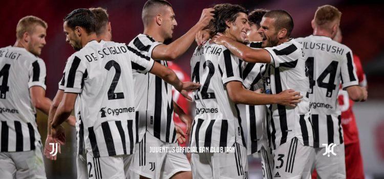 پیروزی یوونتوس برابر مونتزا در جام برلوسکونی